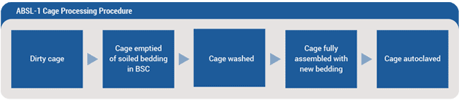 ABSL-1 Cage Processing Pocedure